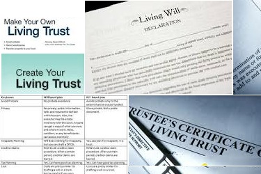 will versus living trust